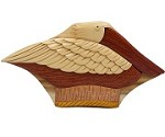 Pelican Secret Box - Wooden Puzzle Box