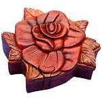Rose II - Secret Wooden Puzzle Box