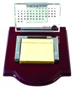 New Perpetual Calendar And Memo Pad Holder