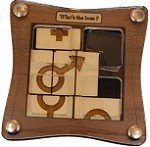 Who's the boss - Wooden Puzzle Brain Teaser