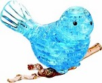 3d Crystal Puzzle Blue Bird