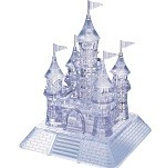 3d Deluxe Crystal Puzzle Castle