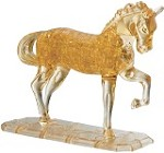 3d Deluxe Crystal Puzzle Horse