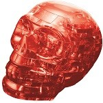 3d Crystal Puzzle Red Skull