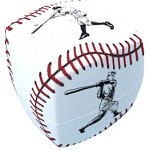 V-Cube 2 Baseball Pillowed - 2x2 Twist Cube Puzzle