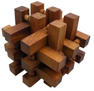 Interlocking Wooden Puzzles Solutions - 0425