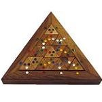 Color Match Triangle - Wooden Puzzle Brain Teaser