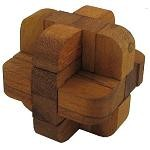 Cut Diamond - Wooden Puzzle Brain Teaser