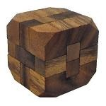 Diamond Cube Large - Wooden Puzzle