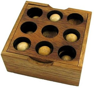 Golf Brain Teaser Wooden Puzzle