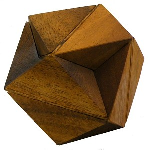 Hexagon Cube - Wooden Puzzle Brain Teaser