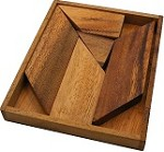 K Letter With Tray - Wooden Puzzle