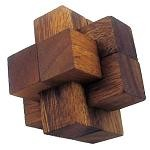 Notched Stick - 3D Wooden Puzzle Brain Teaser