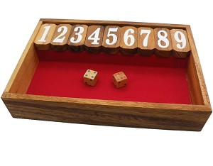 Shut The Box (Medium) - Classic Game