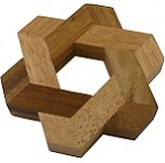 Star of David - Wooden Puzzle Brain Teaser