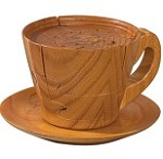 Teacup 3D Jigsaw Wooden Puzzle Brain Teaser