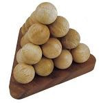 Pyramid Ball - 3D Wooden Brain Teaser Puzzle