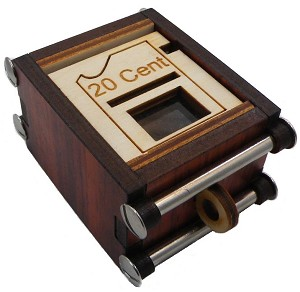 20 Cent Box - Secret Trick Puzzle Box