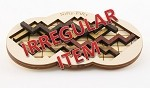 Irregular Nifty Fifty - Wooden Puzzle Brain Teaser