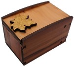 Radbox Natural Wood - Secret Box Brainteaser Puzzle