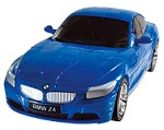BMW Z4 - Blue 3D Jigsaw Puzzle Car Kit