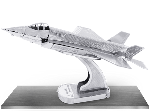 F-35 Lightning II - Metal Earth 3D Model