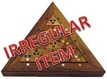 Irregular - Color Match Triangle - Wooden Puzzle Brain Teaser
