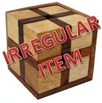 Irregular - 24 Triangles - Brain Teaser Wooden Puzzle