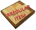 Irregular - No Way - Wooden Brainteaser Packing Problem