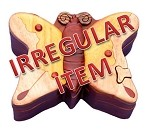 Irregular - Butterfly II - Secret Wooden Puzzle Box