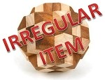 Irregular - Grand Star - 3D Wooden Puzzle
