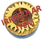 Irregular - Sun - Secret Wooden Puzzle Box