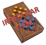 Irregular - Switch Eight - Wooden Brain Teaser Puzzle