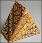 Triangle 5 Steps Japanese Puzzle Box