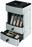 Brushed Stainless Deluxe Valet Motorized Coin Sorter