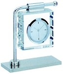 New Hanging Square Crystal With Desk Clock
