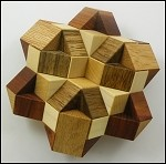 Star of David - Brain Teaser Wooden Puzzle