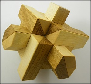 Ribs - Brain Teaser Wooden Puzzle