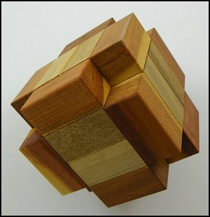 Crossex - Brain Teaser Wooden Puzzle