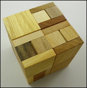 Diagra - Wooden Puzzle Brain Teaser