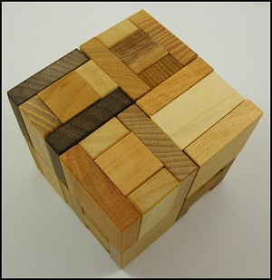 Two U - Wooden Puzzle Brain Teaser
