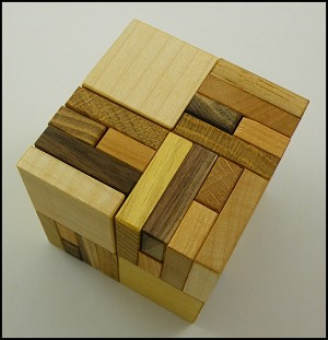Cubicula - Wooden Puzzle Brain Teaser