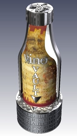 Vino Vault Wine Bottle Puzzle Brain Teaser
