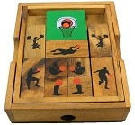 Basketball Court - Wooden Puzzle Brain Teaser