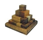 Pagoda Pyramid (Small) Wooden Puzzle