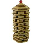 Beads Pagoda Extreme - Rotation Tower wooden Puzzle