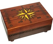 Cartography Secret Wooden Puzzle Box