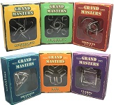 Grand Master Metal Puzzle Set of Six Puzzles - Group Special