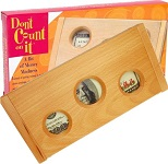 Don't Count On It Original - Tricky Wooden Money Puzzle Box
