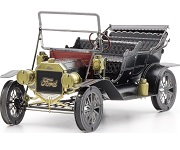 Ford 1908 Model T In Green - Metal Earth 3D Model Puzzle